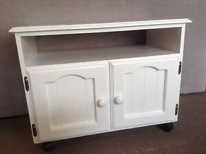 Refurbished Timber TV cabinet Yagoona Bankstown Area Preview