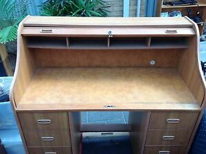 Roll top desk Ellenbrook Swan Area Preview