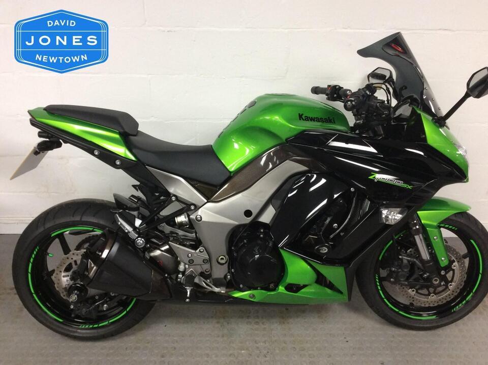 Kawasaki ZX Z1000SX GCF Z 1000 2012 / 12 Green