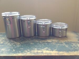 Threshold stainless steel canisters - from target