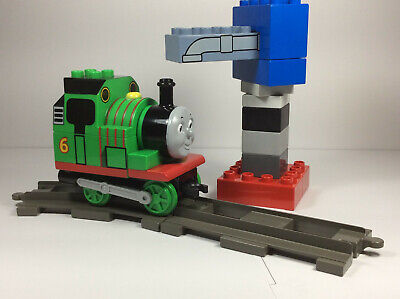 LEGO Duplo Thomas The Train Percy At The Water Tower 5556 track set/lot rare
