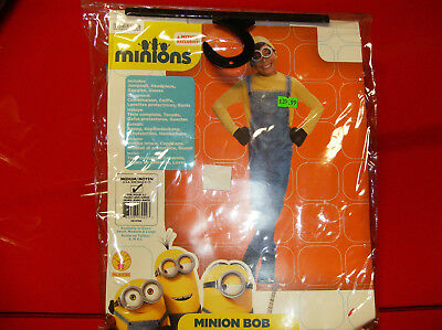 MINIONS MINION BOB CHILD HALLOWEEN COSTUME MEDIUM - Kid Minion Halloween Costume