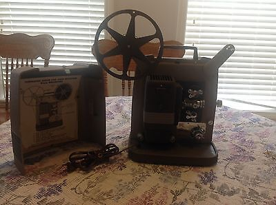 Vtg Keystone K-100 Variable Speed 8mm Silent Film Movie Projector Clean Working!