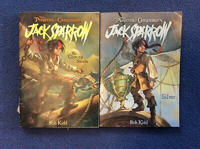 LOT 2 Pirates of The Caribbean Jack Sparrow Series Disney Chapter Books R Kidd for sale  Charlotte