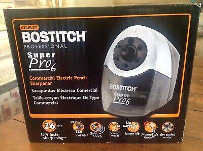 Bostitch Super Pro 6 Commercial Electric Pencil Sharpener Grayblack Eps12hc Nib