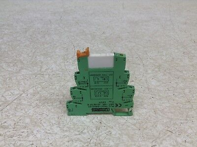Phoenix Contact 2961105 24 VDC Solid State Relay 2966016 PLC-BSC-24DC/21 (BT)
