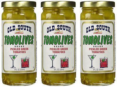 Gluten Free Pickles - Old South Tomolives Pickled Green Tomato, 8 oz jar | Gluten Free Pickled Vege...