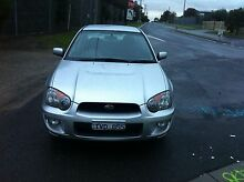 2005 Subaru Impreza Sedan Coolaroo Hume Area Preview