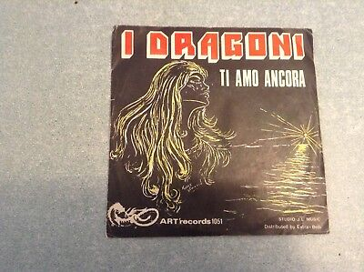 Disque vinyle 45 tours B2 /i dragoni, ti amo ancora