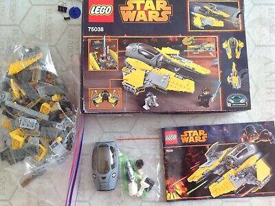 LEGO Star Wars Jedi Interceptor (75038) complete with box
