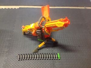 Epic automatic nerf Vulcan EBF-25 with extra ammo clip