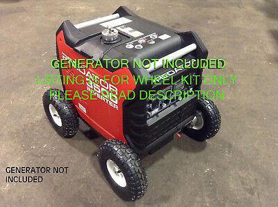 Predator 3500 Watt Generator Allterrain 10 Pneumatic Wheel Kit With Locking Hub