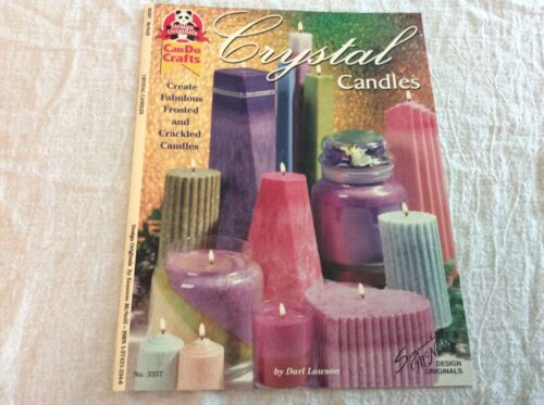 Design Originals Can Do Crafts Crystal Candles Leaflet 3357 Projects Techniques
