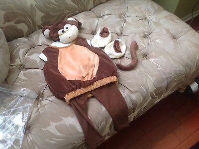 Boo Babies Mischievous Monkey Halloween Costume 9 -18 Months, 5 pieces set](Monkey Halloween Costumes Babies)