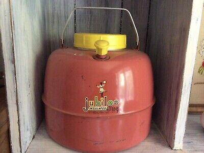 Vintage Pink Jubilee Insulated Jug, Cooler, Drinks, Picnic