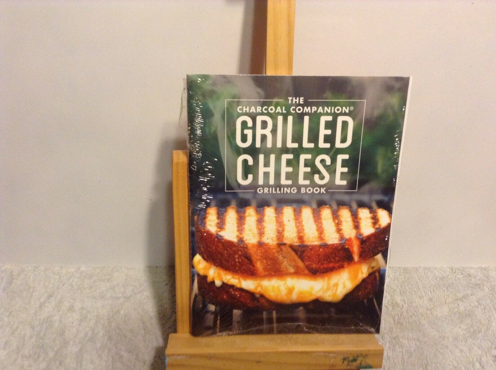 Charcoal Companion Grilled Cheese Recipe Book New