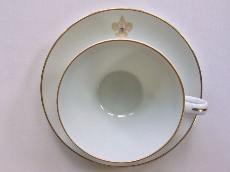 BEAUTIFUL Formal Coffee Cup w/ Saucer LOOK