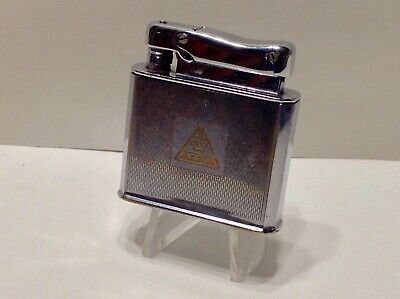 VINTAGE MONOPOL ADVERTISING LIGHTER- WORKS GREAT!