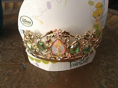 Disney Store Tinkerbell  Costume Crown Tiara Princess New