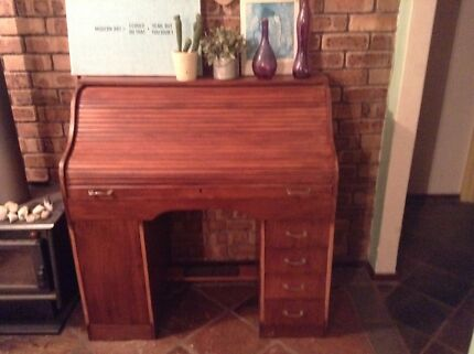 Price Reduced! Gorgeous Mid Century Roll Top Desk Marmion Joondalup Area Preview