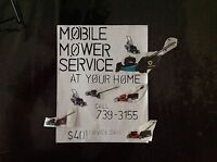 MOBILE MOWER REPAIR SERVICE AT YOUR HOME