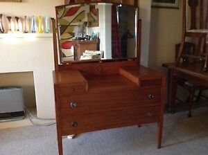 Vintage dresser with inlay detail Denistone West Ryde Area Preview