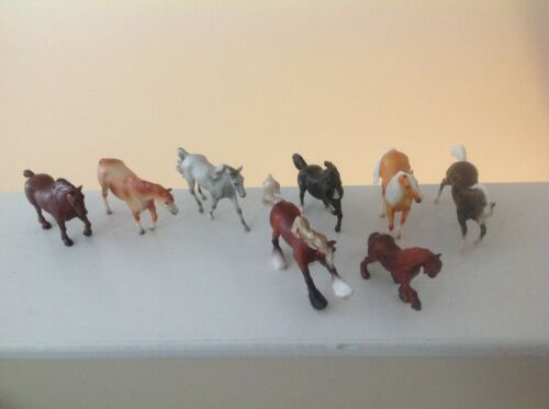Breyer stablemates set of 8 set #6051 70th anniversary set Free Shipping