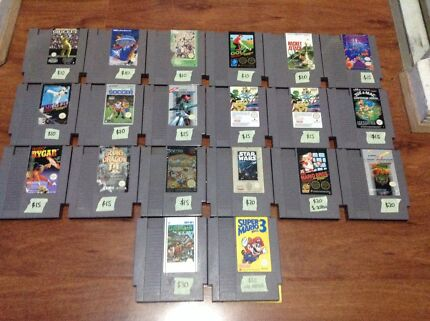 20 NES GAMES ONLY $240!!!  Surrey Downs Tea Tree Gully Area Preview