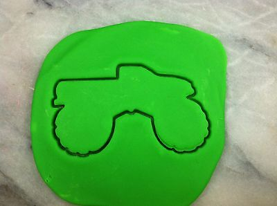 Monster Truck Cookie Cutter CHOOSE YOUR OWN SIZE! Outline - Monster Truck Cookies