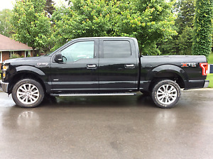 2015 Ford F-150 Black with Chrome trim Pickup Truck