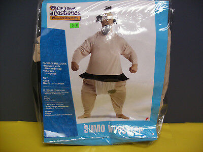 SUMO WRESTLER MEN HALLOWEEN COSTUME ONE SIZE