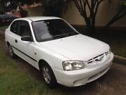 2001 Hyundai Accent Hatchback Greenacre Bankstown Area Preview