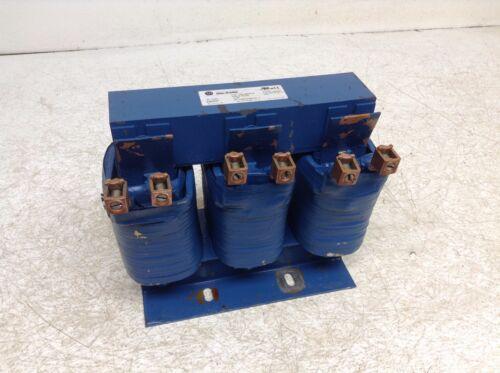 Allen Bradley 1321-3R100-B 162756 Line Filter Reactor .3 mH 100 Amp RL-10002