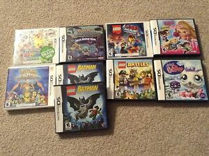 DS and 3DS games with cases and instruction booklet
