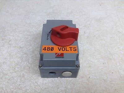Mennekes ME 20MS1A-M2 25 Amp 3 Pole 600 V Manual Motor Controller ME20MS1A-M2 comprar usado  Enviando para Brazil