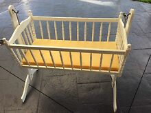 Wooden Baby Cradle Taylors Lakes Brimbank Area Preview