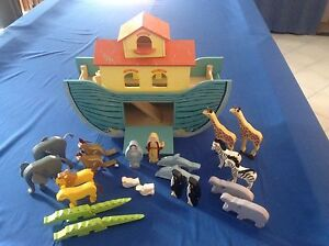 Wooden Noah's Ark Playset Kellyville The Hills District Preview