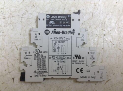 Allen Bradley 700-TBS124 24 VDC Solid State Relay 700-HLT1Z*