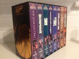 007 collector Movies VHS Roger Moor