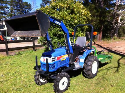 Wrights Farm Machinery Iseki Tractor FEL delivery inc 107hr Slasher de Kangaroo Valley Shoalhaven Area Preview