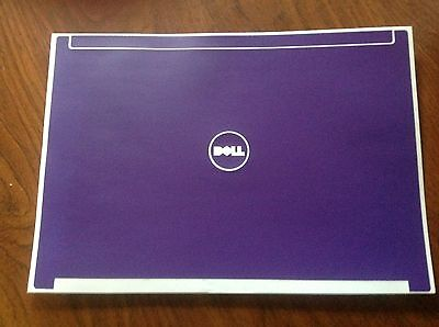 Dell Latitude D630 Skin - LidStyles PURPLE Vinyl Laptop Skin Decal fits Dell Latitude D620 D630 Series