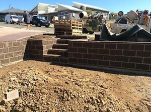 All Projects Retaining Walls - Brick - Block - Timber Lake Illawarra Shellharbour Area Preview