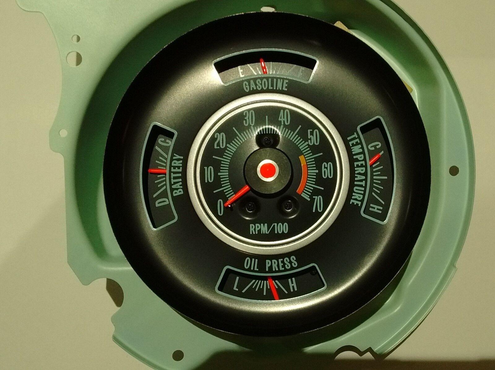 tachometer dash gauge 69 chevy chevelle bu el camino 5700 tachometer dash gauge 69 chevy chevelle bu el camino 5700 rpm tach gauges 3 3 of 4