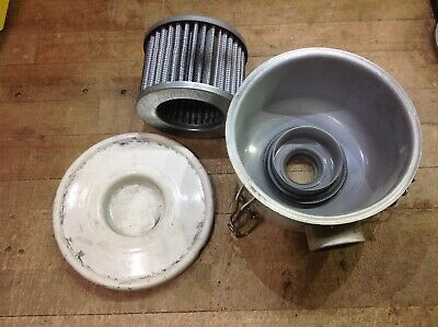 Solberg Compact Vacuum Filter Csl-843-100hc Npt Used Canister 843