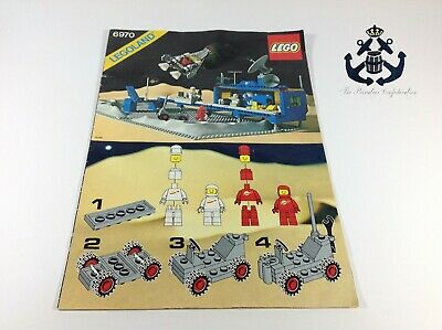Lego Vintage Classic Space Beta-1 Command Base Instructions For Set 6970-1