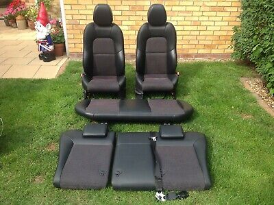 FORD FIESTA ZETEC S PART LEATHER SEATS