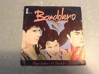 Disque vinyle 45 tours /bandolero, paris latino