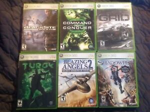 XBOX 360 GAMES!!! MINT CONDITION!!!