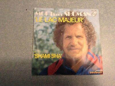 Disque vinyle 45 tours / mort shuman, le lac majeur
