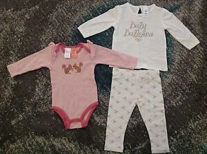 NEW baby girl outfits 'Ballerina' and bunny onesie Everton Park Brisbane North West Preview